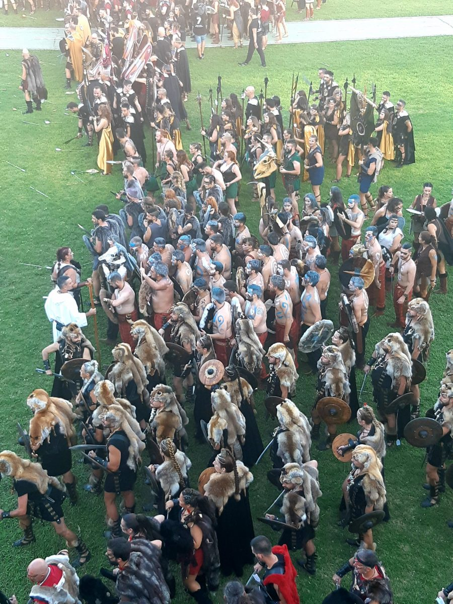 Romans and Carthaginians festival