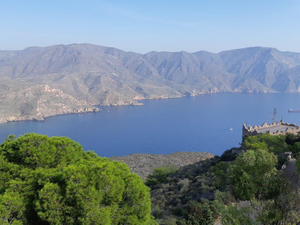 view from Bateria de Castillitos