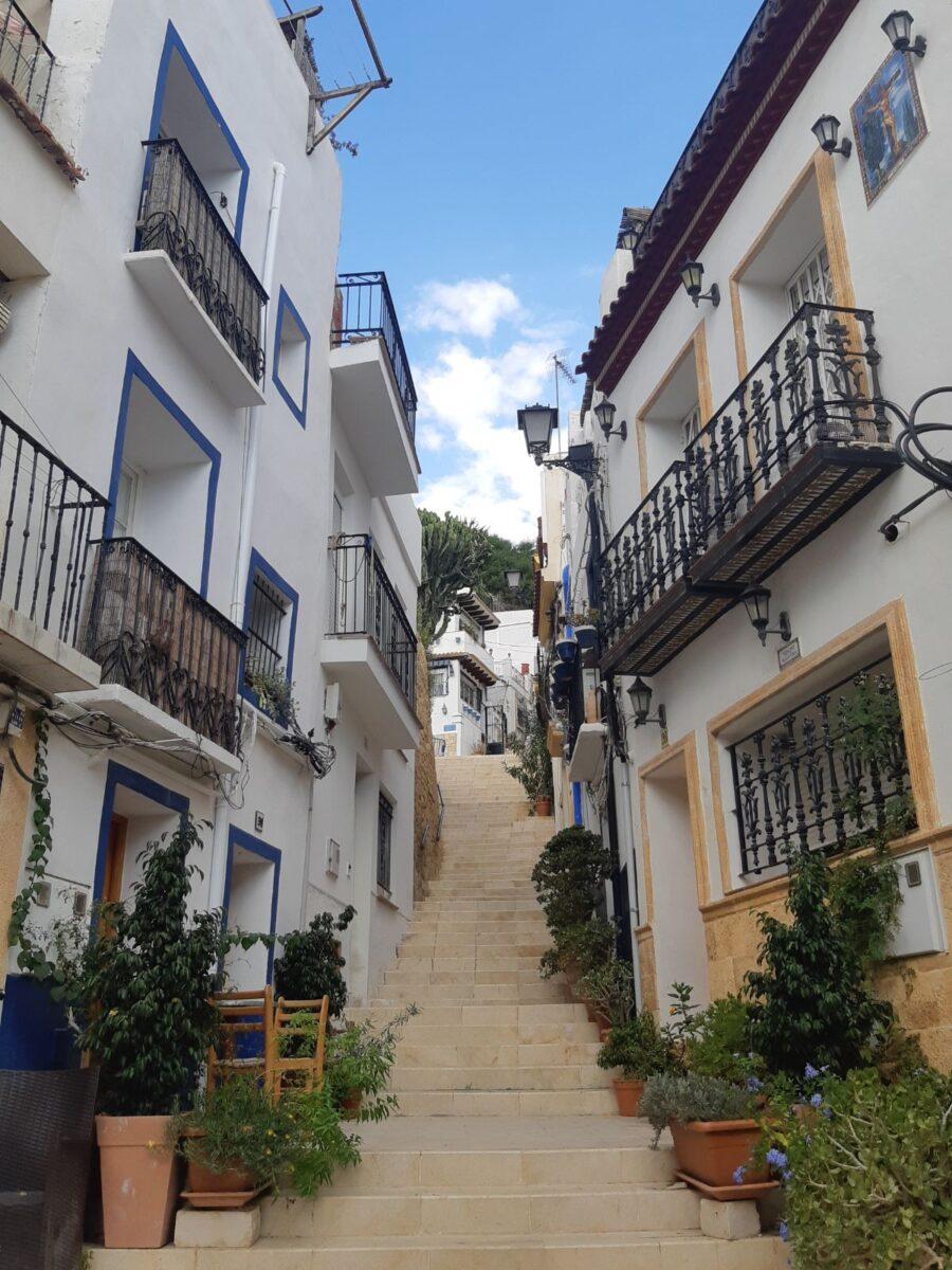 Barrio de Santa Cruz Alicante